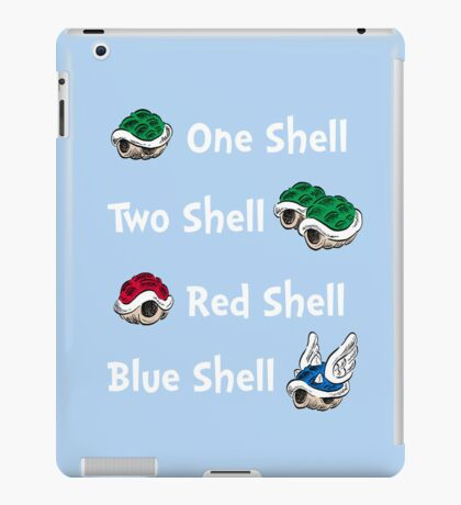 1 Shell 2 Shell iPad Case/Skin