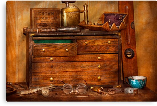Carpentry - Tools - In my younger days  by Michael Savad