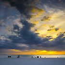 Sunset on Marco Island by Mikell Herrick