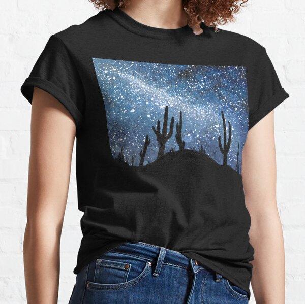 Desert Sky Landscape  Classic T-Shirt
