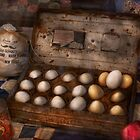 Kitchen - Food - Eggs - 18 eggs  by Michael Savad