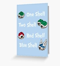 1 Shell 2 Shell Greeting Card