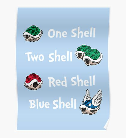 1 Shell 2 Shell Poster