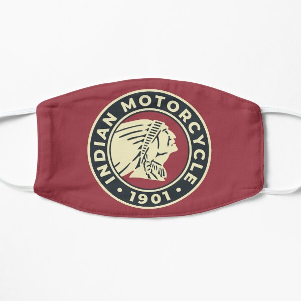 Indian Motorcycle 1901 - Round Custom Logo Mask