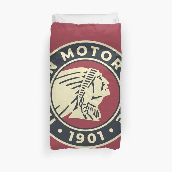 Indian Motorcycle 1901 - Logo personnalisé rond Housse de couette
