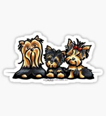 YorkieTrio Sticker