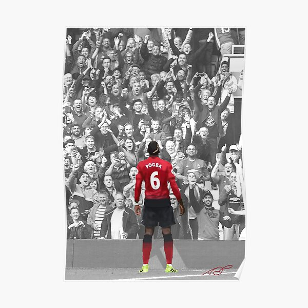 Paul Pogba 2018 Poster