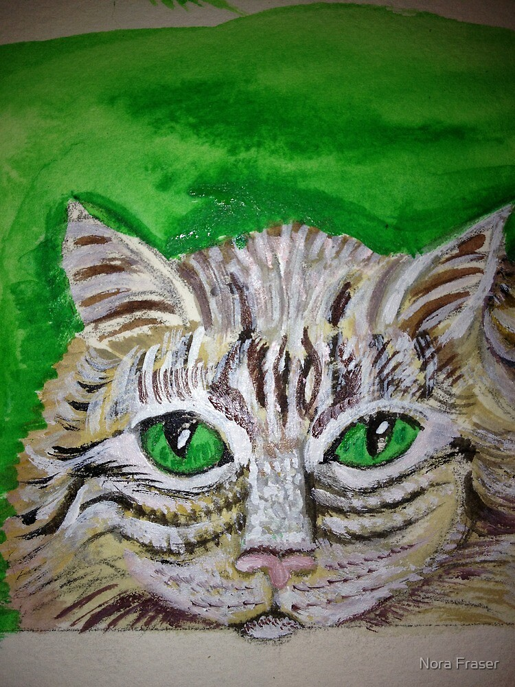 mAc with GREEN by Nora Fraser