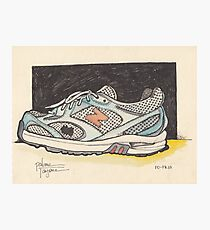 AN OLD SHOE Photographic Print