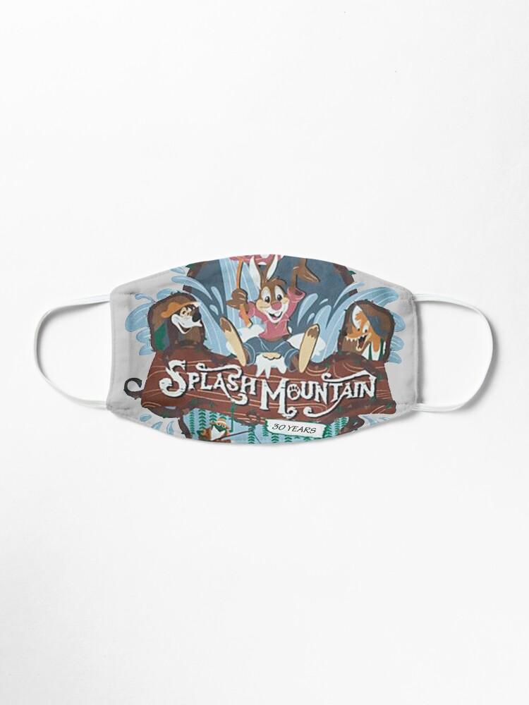 Alternate view of Splash Mountain Mask