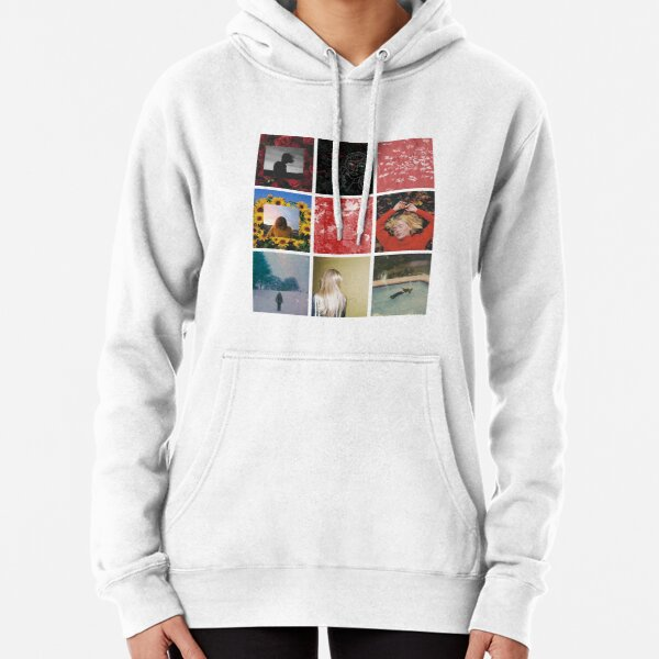 girl in red Pullover Hoodie