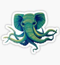 Octophant - Artwork by Minxi Sticker