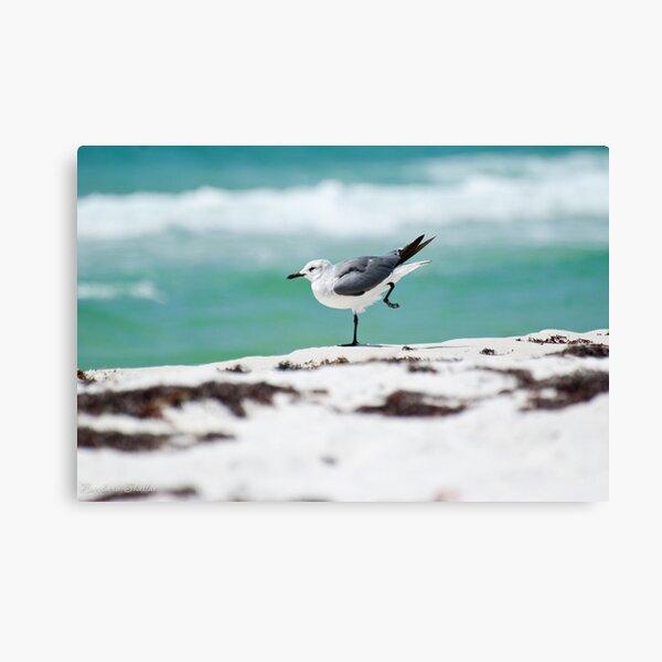 Beach Yoga - 2nd Pose Canvas Print