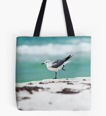 Beach Yoga - 2nd Pose Tote Bag