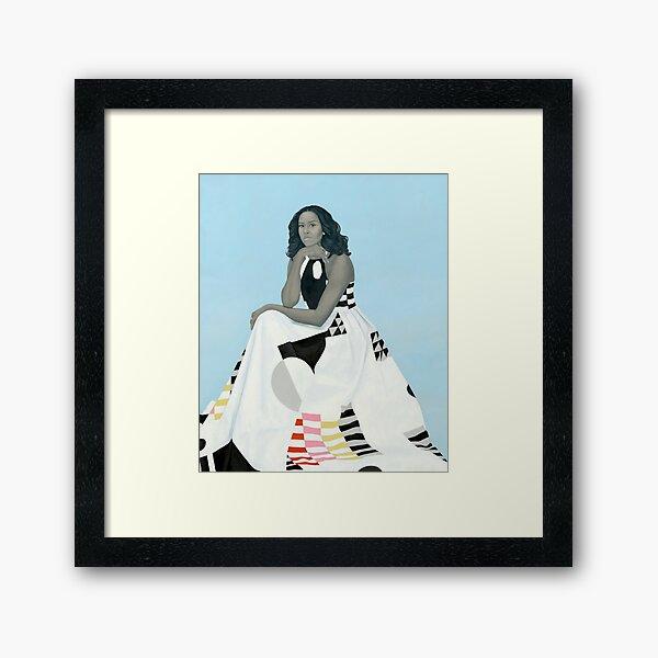 Michelle Portrait Framed Art Print