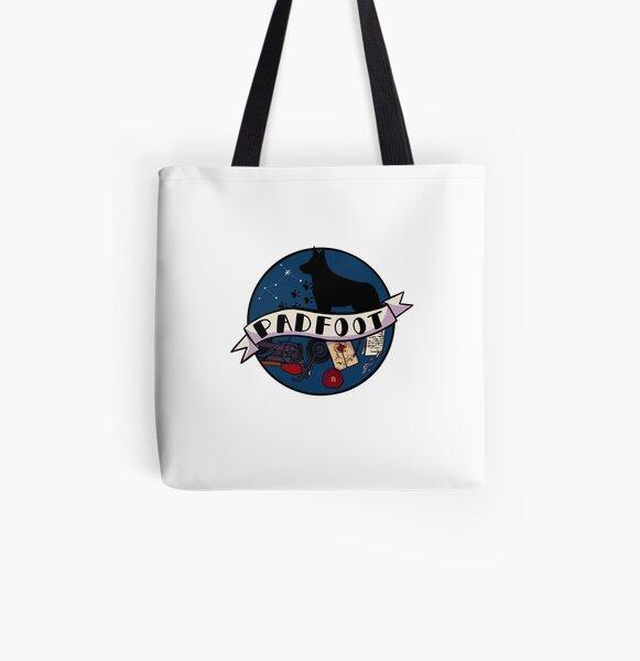 Padfoot / Sirius All Over Print Tote Bag