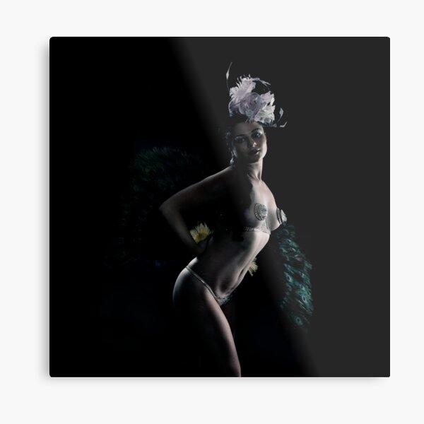 Lola The Vamp burlesque beauty Metal Print