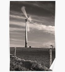 Wind Farm at Ravenshoe - Far North Queensland Poster