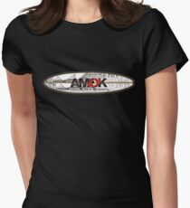 AMOK - tribal breaker surfboard Womens Fitted T-Shirt