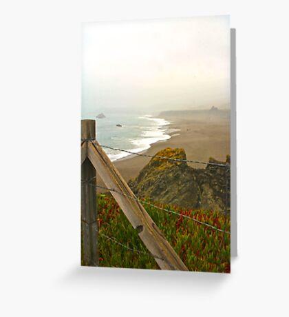 Beach Overlook Greeting Card