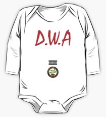 Diggaz wit attitudes One Piece - Long Sleeve
