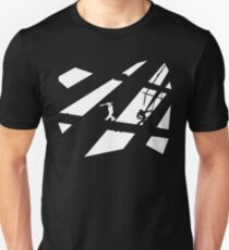 Black and White Shinobis Unisex T-Shirt