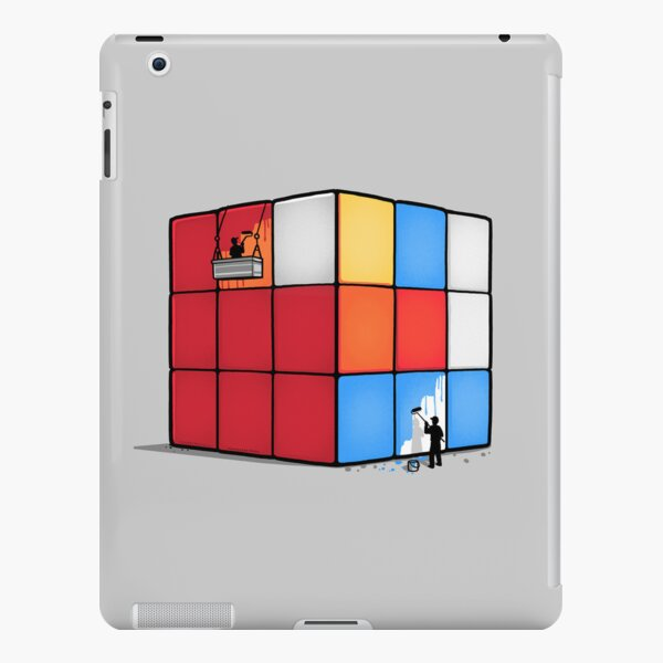 Solving the cube iPad Snap Case
