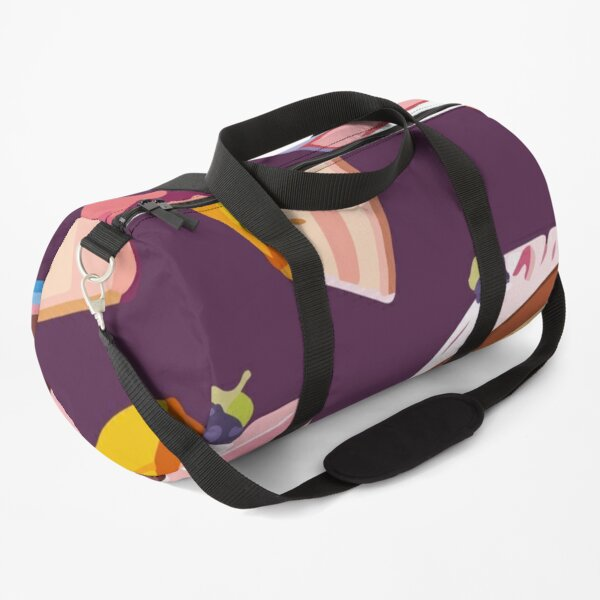 Candy pattern Duffle Bag