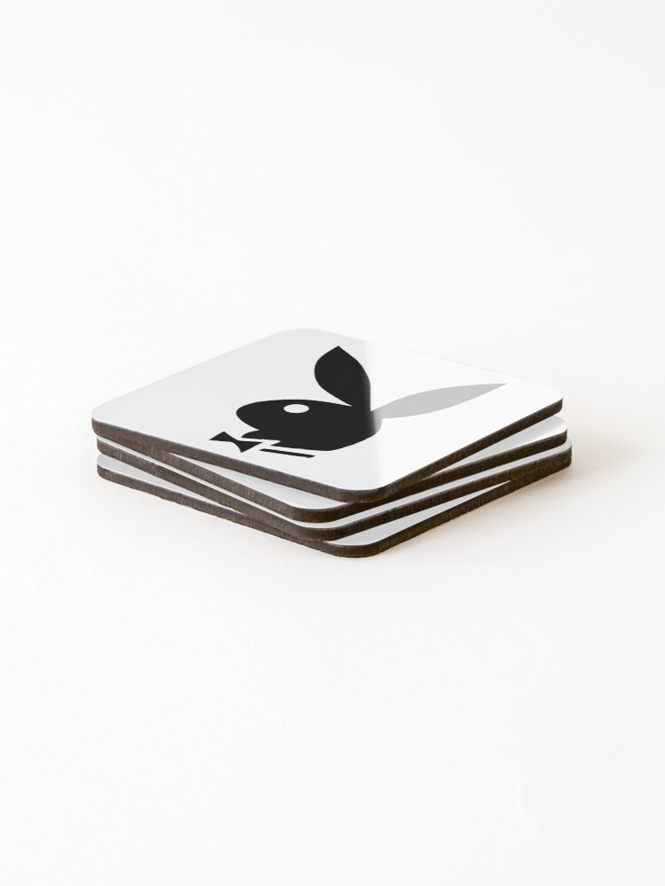 Alternate view of Playboy bunny logo Coasters (Set of 4)