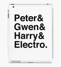 Peter & Gwen & Harry & Electro. iPad Case/Skin