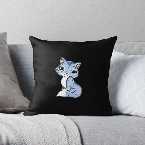Cute Cat Cute Cat  Throw Pillow