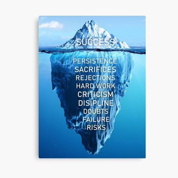 Success motivation  Canvas Print