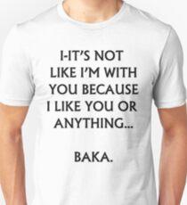 Tsundere Unisex T-Shirt