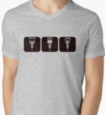 Velodrome City Icon Series V2 no.3 Mens V-Neck T-Shirt