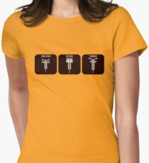 Velodrome City Icon Series V2 no.3 Womens Fitted T-Shirt