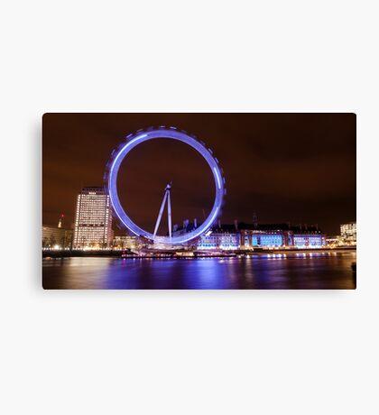 London Eye by Night Canvas Print