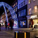 Christmas decoration of Bond Street in London by Mattia  Bicchi Photography
