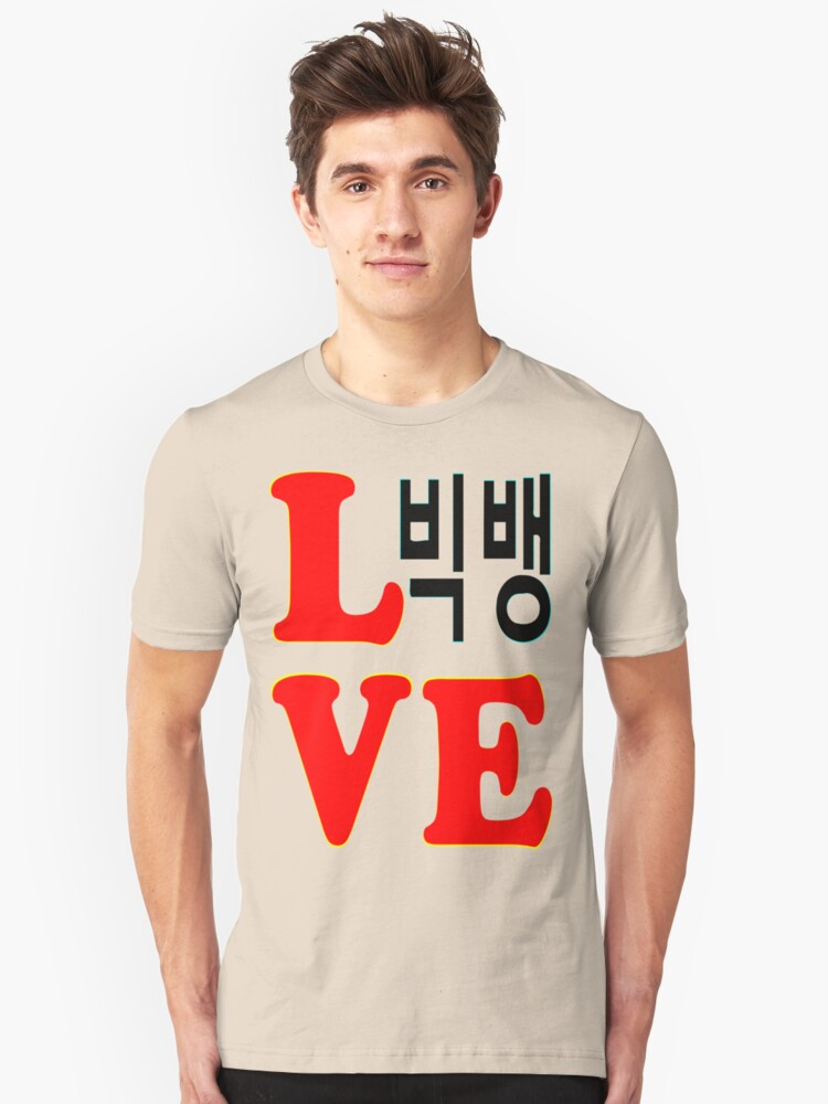 ㋡♥♫Love BigBang K-Pop Clothing & Stickers♪♥㋡ Unisex T-Shirt Front