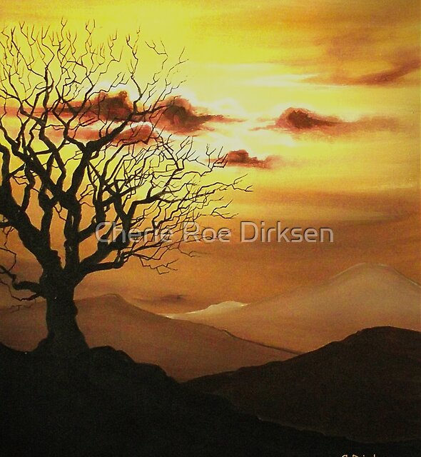 The Old Oak Tree by Cherie Roe Dirksen