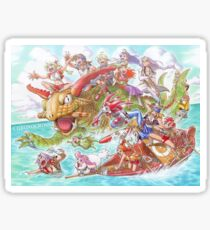 Chrono Cross: Swim Sticker