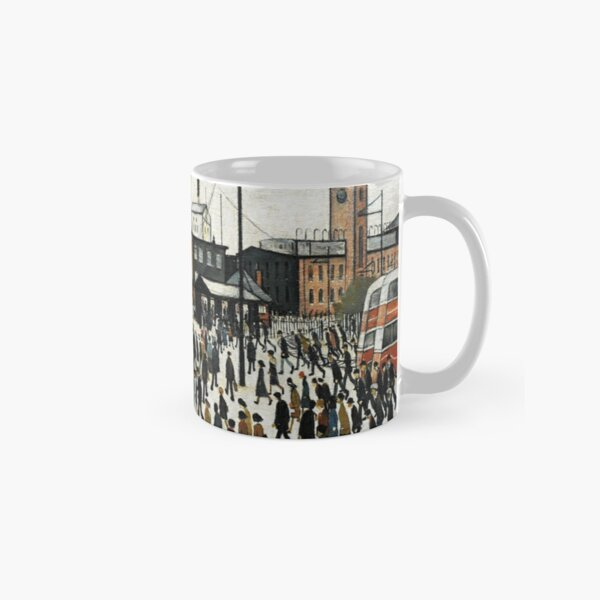 LOWRY, Artist, Matchstick men, Laurence Stephen Lowry, Going to Work. Classic Mug