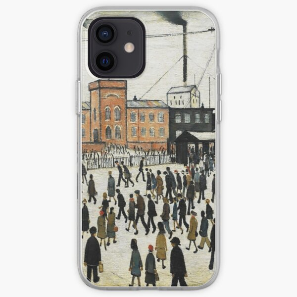 LOWRY, Artist, Matchstick men, Laurence Stephen Lowry, Going to Work. iPhone Soft Case