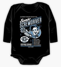 Sonic Screwdriver Ad One Piece - Long Sleeve
