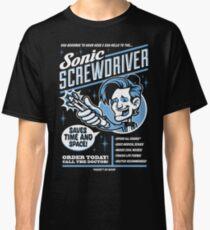 Sonic Screwdriver Ad Classic T-Shirt