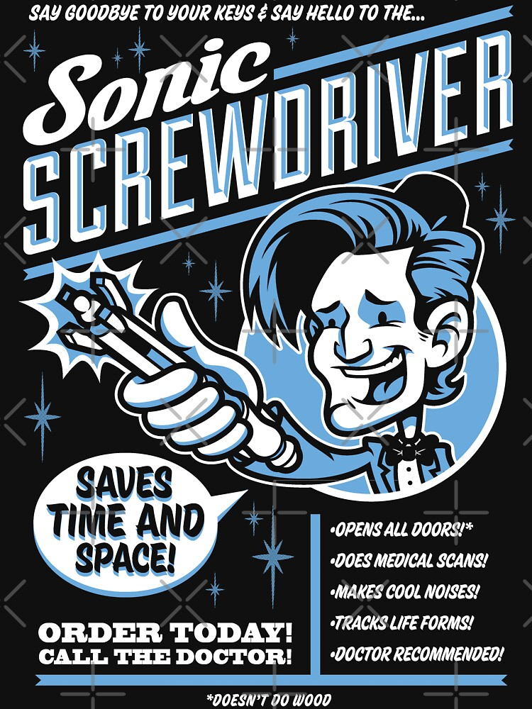 Sonic Screwdriver Ad | Unisex T-Shirt