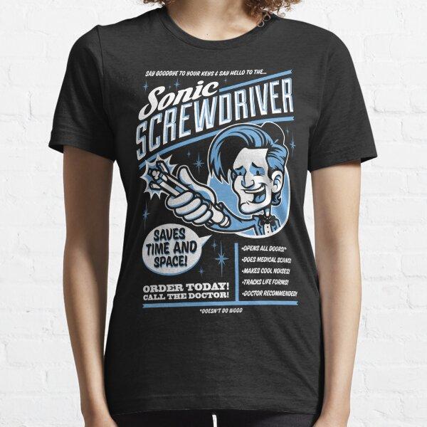 Sonic Screwdriver Ad Essential T-Shirt