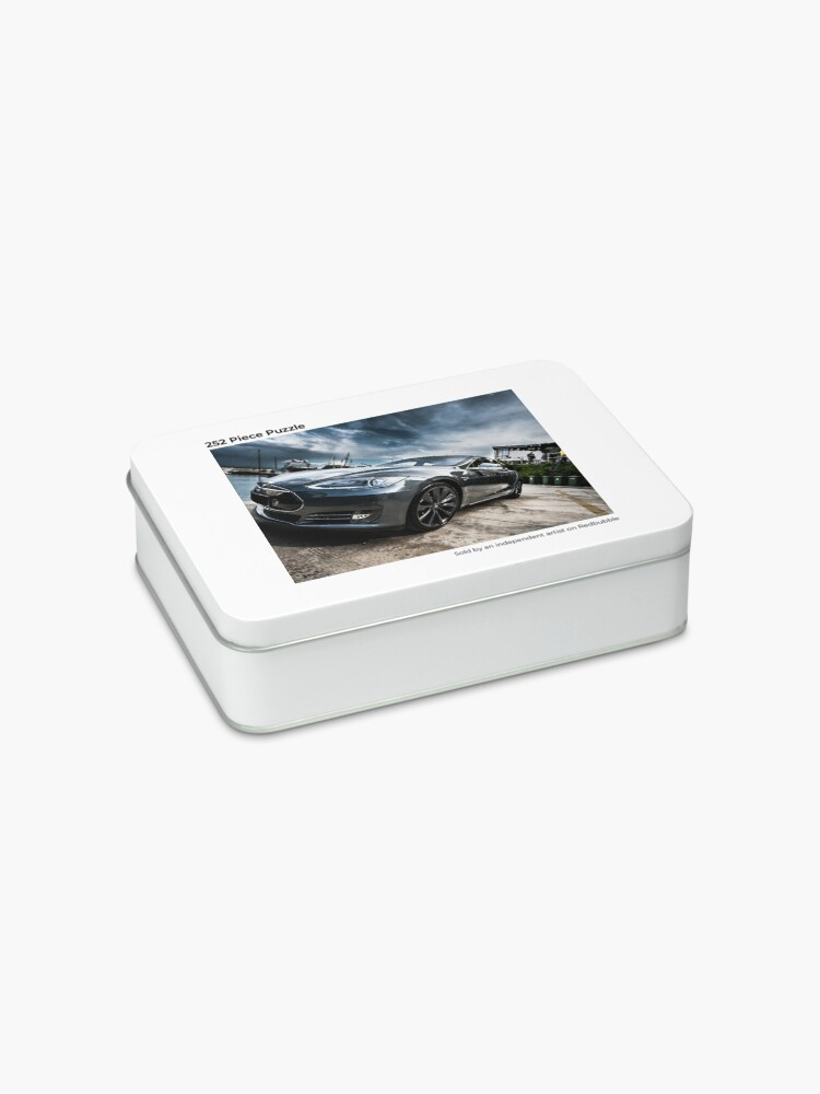 Alternate view of Beauty of Tesla S Jigsaw Puzzle