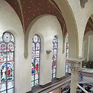 West wall, St. Mary of Sorrows, now King Center by Ray Vaughan
