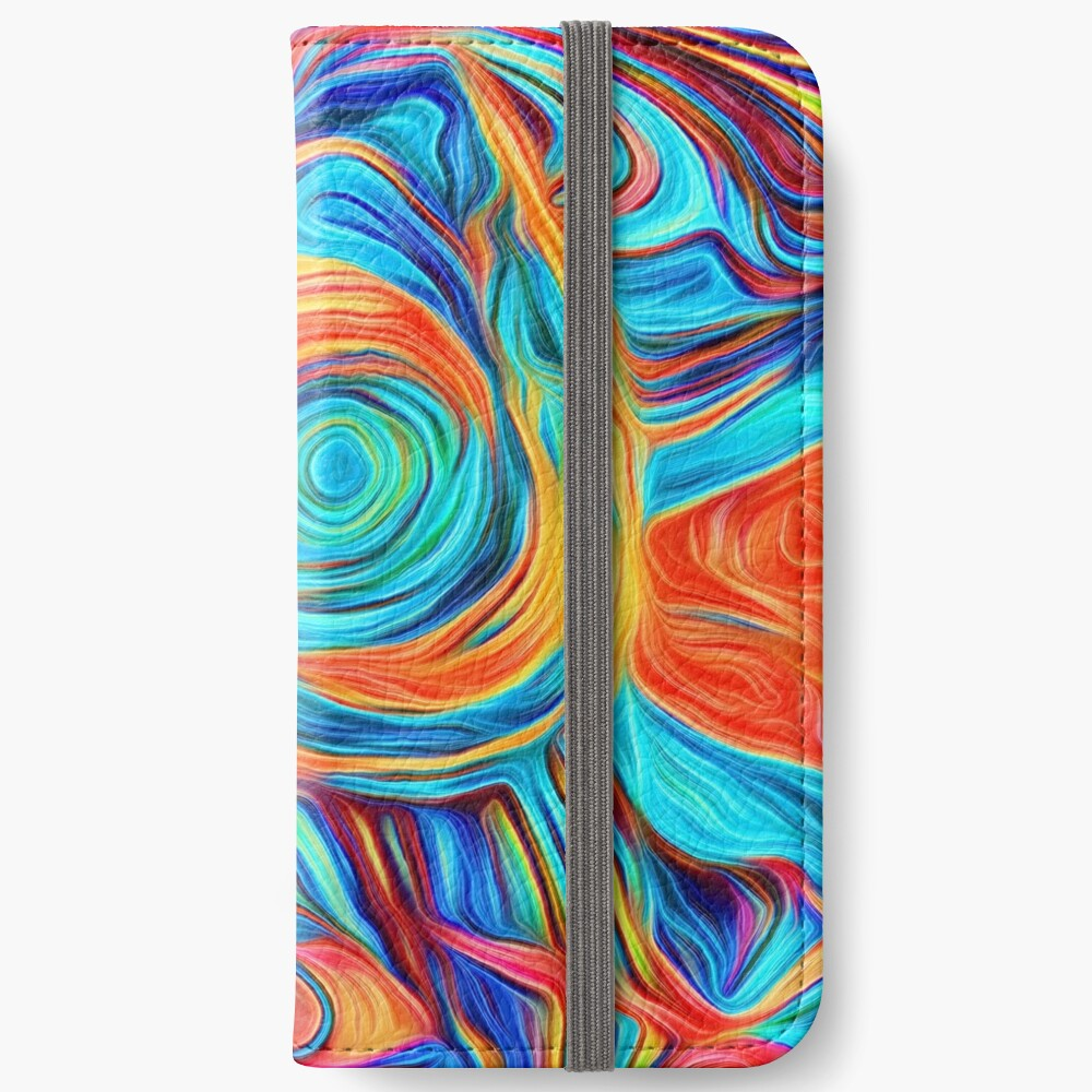 Abstractions of abstract abstraction iPhone Wallet