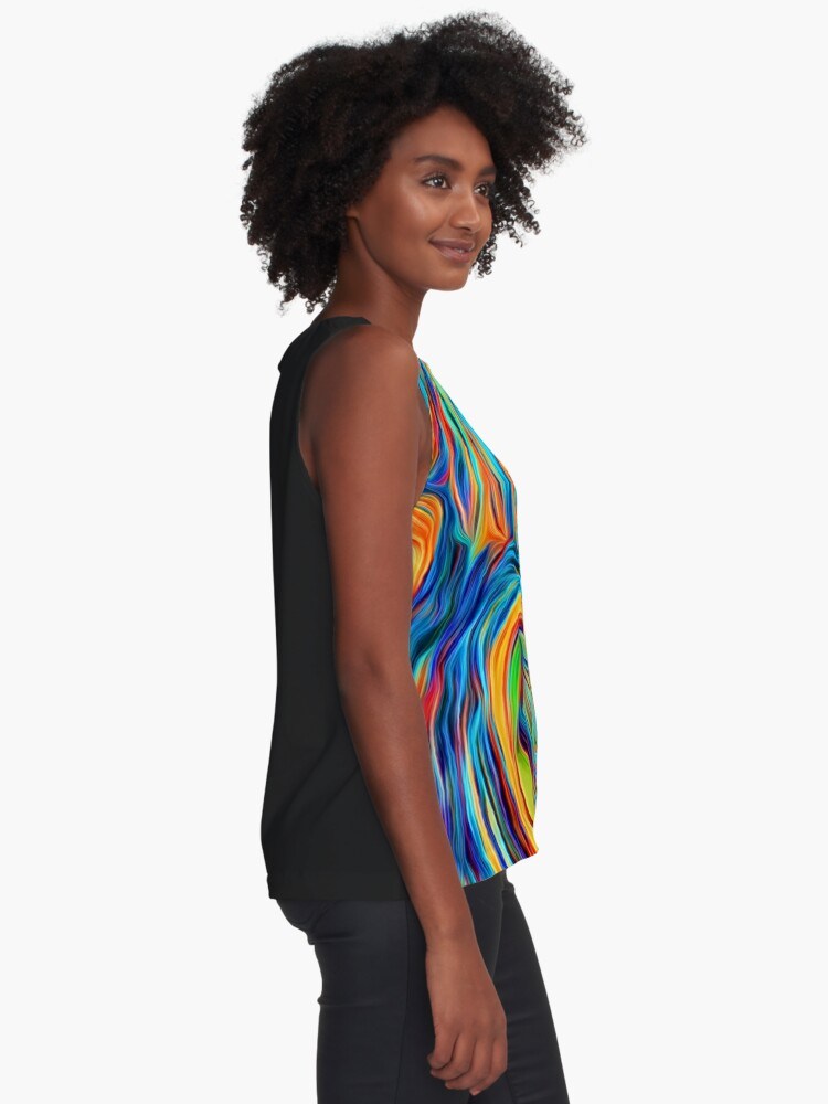 Alternate view of Abstractions of abstract abstraction Sleeveless Top